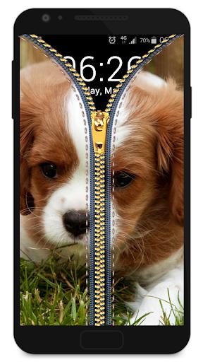 玩免費休閒APP|下載拉链锁屏 - 小狗 app不用錢|硬是要APP