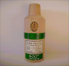 Photo: L'étui de l'élixir végétal aux étiquettes surajoutées en l'occasion des commémorations du 400ème anniversaire en 2005 !  (merci à Vincent)