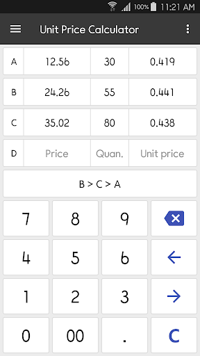 ClevCalc - Calculator screenshot 7