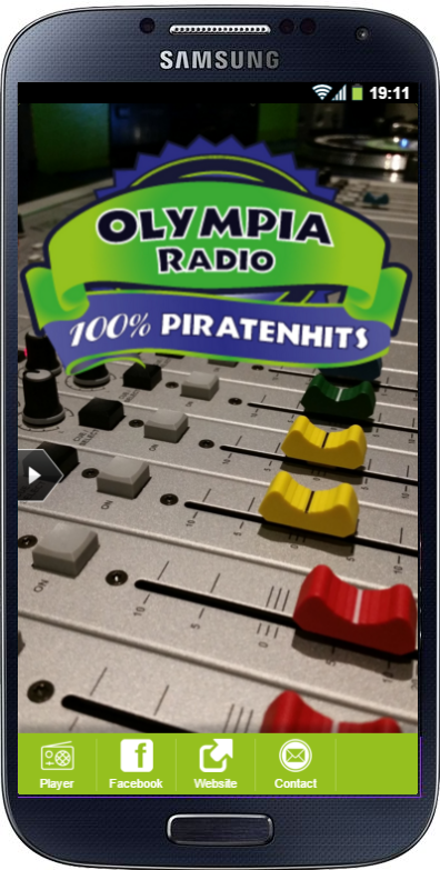 Olympia Radio- screenshot