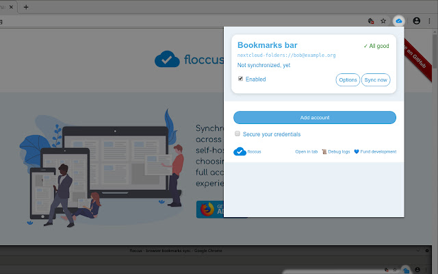 floccus bookmarks sync