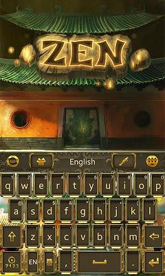 Zen GO Keyboard Theme & Emoji - screenshot