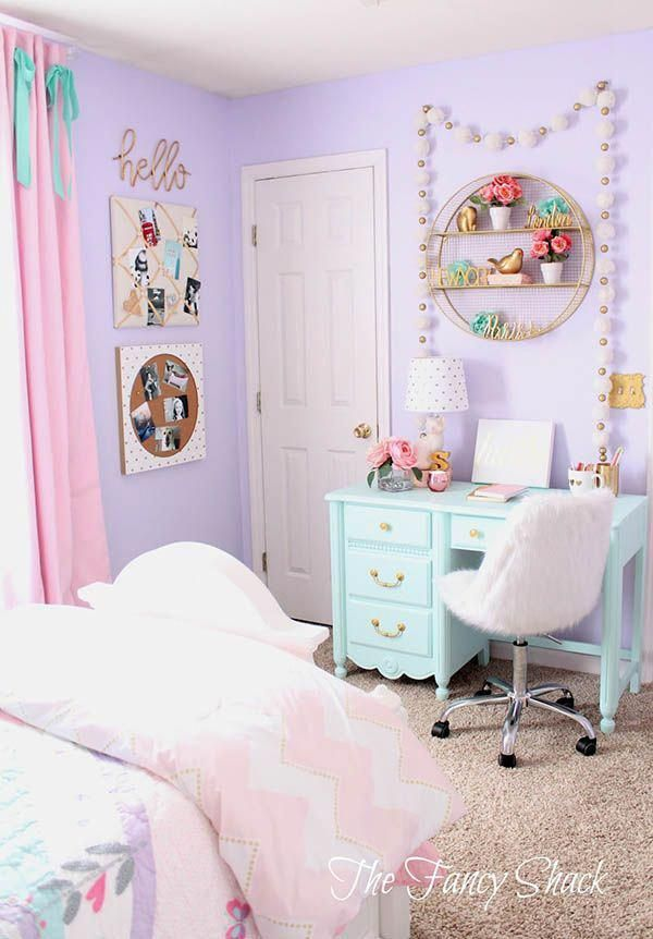 Purple Color Theme to Style Your Bedroom