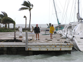 Photo: We had a bit of a mess here at the marina but we fared a lot better than some of our landlubber friends who lost everything.