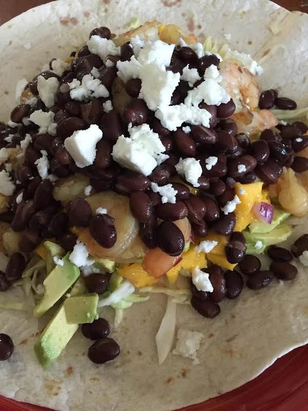 Shrimp Burrito Recipe