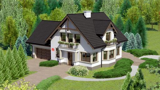projekt Dom przy Przyjaznej 2