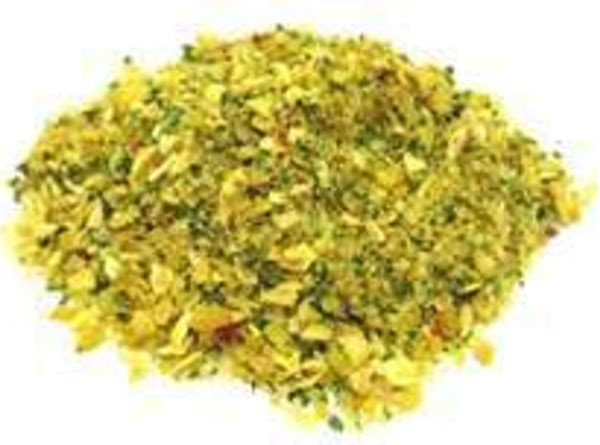 In a large bowl combine salt, pepper and garlic powder and parsley. Sprinkle the...