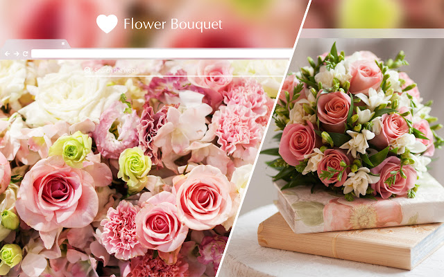 Flower Bouquet HD Wallpapers New Tab Theme