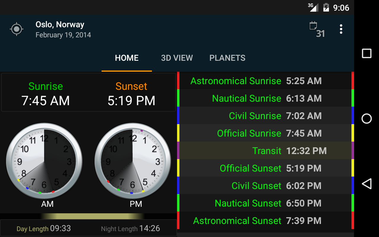 Sunrise Sunset - Android Apps on Google Play   title   weather sunrise and sunset times