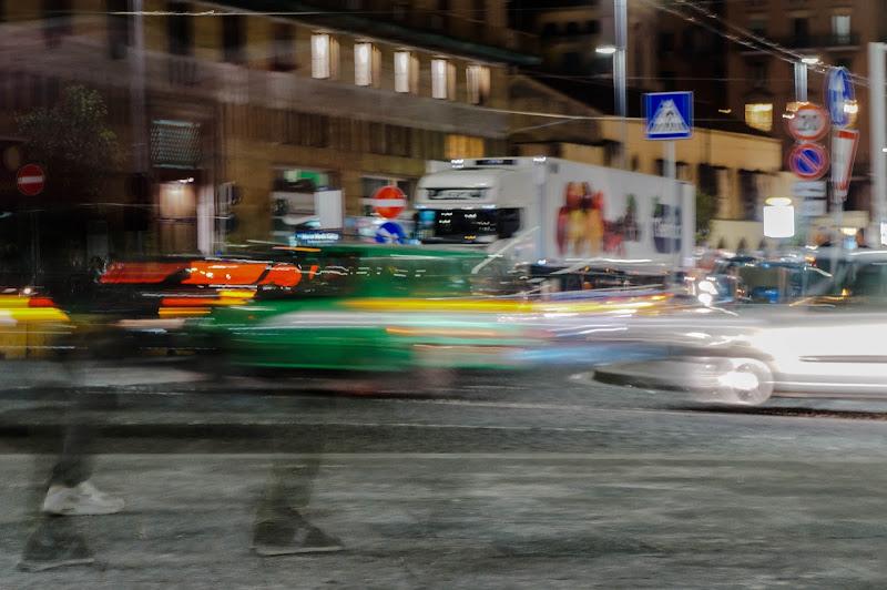 Traffico sfuggente di Blondphoto