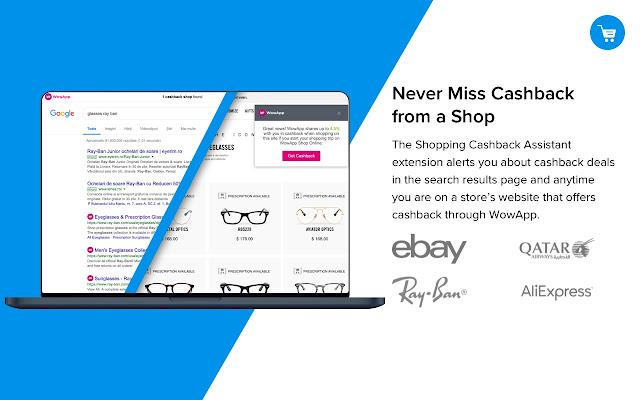 WowApp Shopping Cashback Assistant