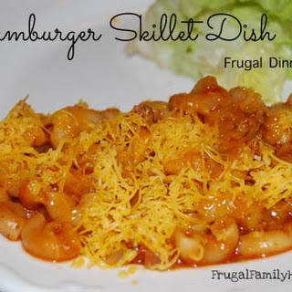 Hamburger Skillet Dish