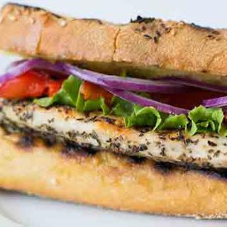 Italian Grilled Chicken Sandwich Recipe