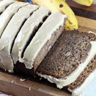 Maple Glazed Banana Bread.
