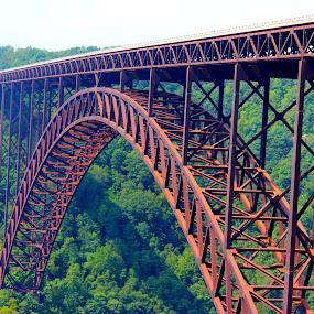 New River Gorge Bridge by Christie Henderson - Buildings & Architecture Bridges & Suspended Structures ( west virginia, bridge,  )