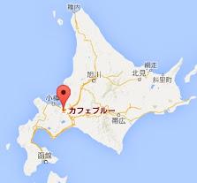 地図:カフェブルー・Cafe Blue