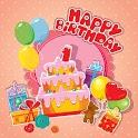 Happy Birthday Card, Video & GIF icon