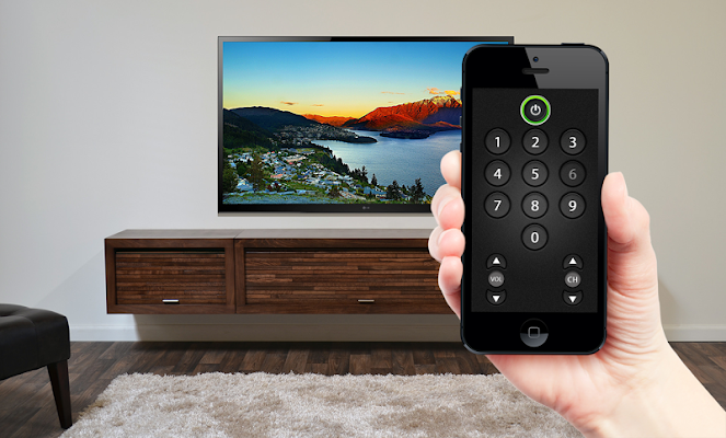 Remote controller for TV - screenshot