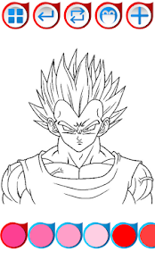 Super Sayane Coloring Book - náhled