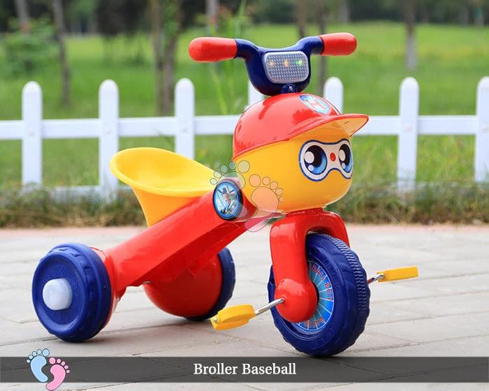 Xe đạp ba bánh trẻ em Broller XD3 Baseball 5