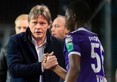 Frank Vercauteren en sportieve staf van RSC Anderlecht zijn technisch werkloos