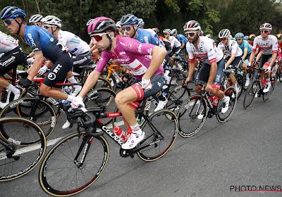 Groepssprint in de Giro zonder Gaviria