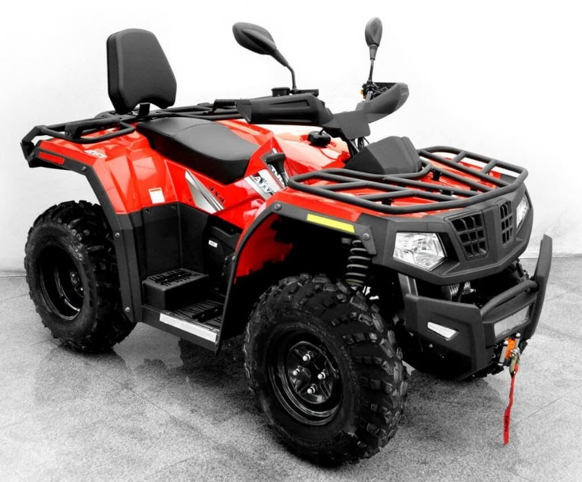 400cc Forge X400 4x4 Hisun Farm Quad Bike Crossfire ATV