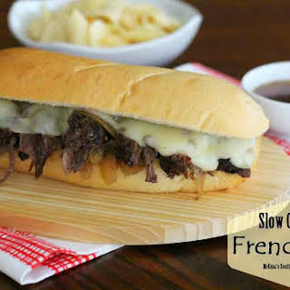 Slow Cooked French Dip.