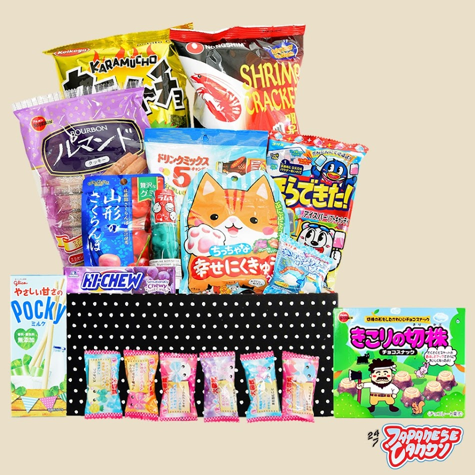 Online Store - Buy Japanese Candy Mystery Snack Box