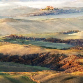 Tuscany...like a painting! by Stefano Venturi - Landscapes Mountains & Hills ( volterra, tuscany, italy )