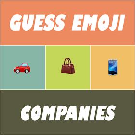 Guess Emoji : Companies