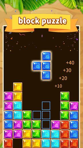 Gem blast - new slidey block puzzle apkpoly screenshots 2