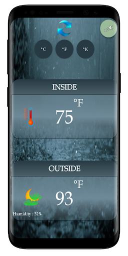 Thermometer Room Temperature (Inside, Outside) screenshot 3