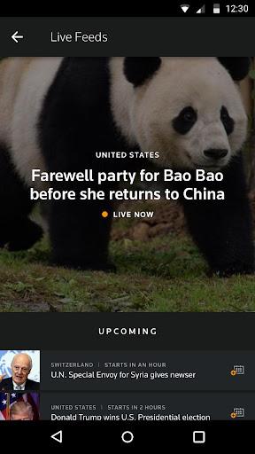 Reuters TV: Video News Screenshot
