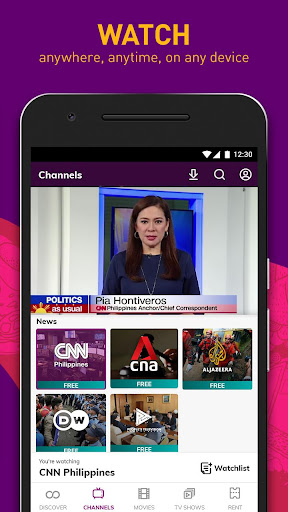 HOOQ - Watch Movies, TV Shows, Live Channels, News screenshot 2