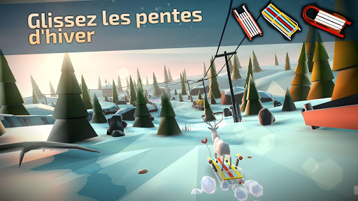 Animal Adventure: Downhill Rush  captures d'écran 1