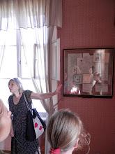 Photo: Наталья  рассказывала нам о жизни поэта так, что казалось будто она была лично знакома с жителями  этих дивных  мест   : Михайловского,Тригорского,Петровского.