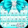 com.ikeyboard.theme.cyan.diamond.bowknot
