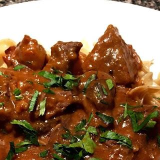 Instant Pot Burgundy Beef