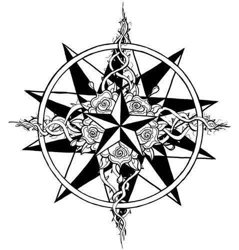 Best Nautical Star Tattoos Designs