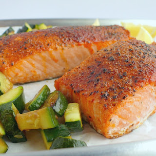Perfect Air Fryer Salmon.