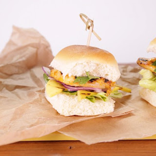 Grilled Sweet Chili Ranch Chicken Sliders Recipe