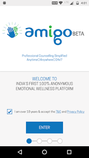 Amigo - Secure Anonymous Professional Counselling - náhled