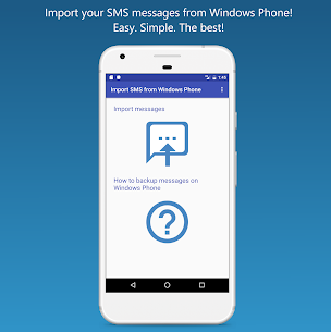 Import SMS from Windows Phone 1.5 MOD + APK + DATA Download 1