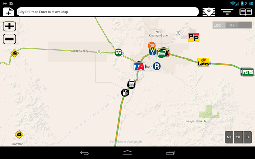 Truck Stops and Travel Plazas Screenshot 9