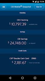 Citi Mobile® Screenshot 5