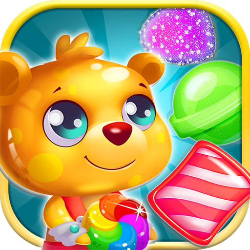 Gummy Bear Jelly Splash Gummi 棋類遊戲 App LOGO-硬是要APP