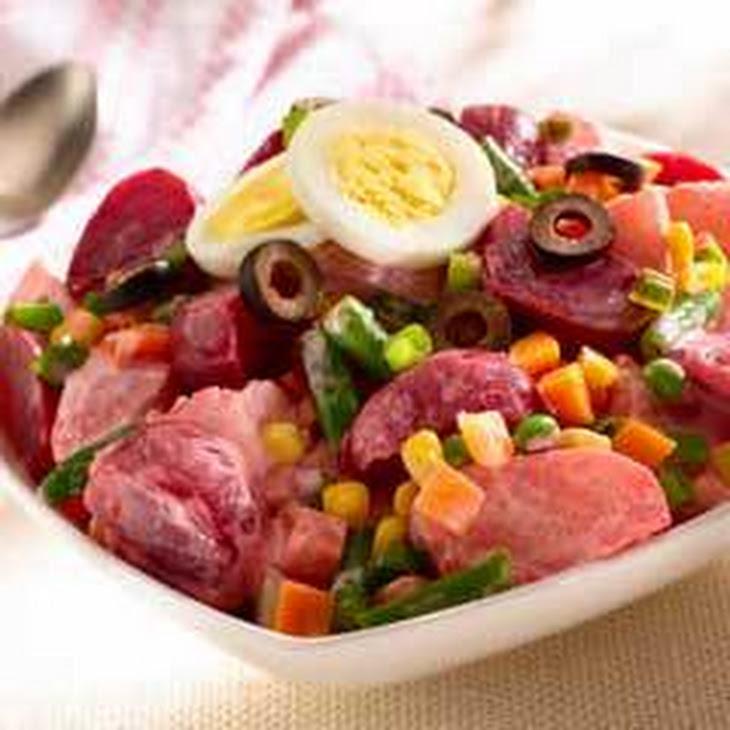 Potato Beet Salad Recipe