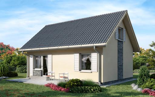 projekt D67 - Paulinka wersja drewniana