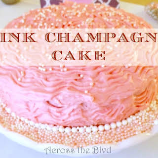 Pink Champagne Cake.